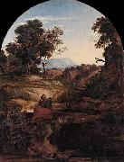 Ferdinand Olivier Elijah in the Wilderness oil painting